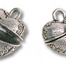 Box Heart Shaped 18x18mm Silver