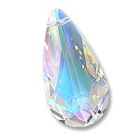 Multi-Color Teardrop 6100 24x12mm Crystal AB