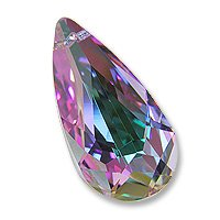 Multi-Color Teardrop 6100 24x12mm Vitrail Light