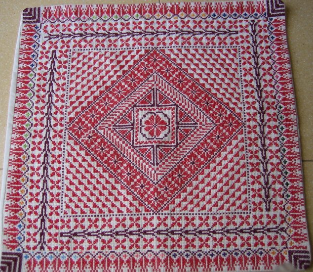 Bedouin Hand-made Embroidered Pillow Case, Pillow Cover, Native Design, Home Decor, Ethnic Craft