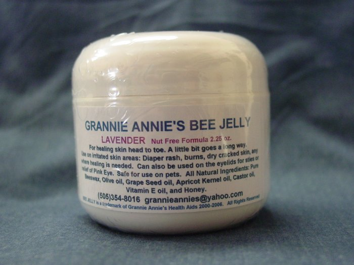 """It's All About You"" All Natural Lavender Bee Jelly"