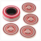 Ohio State Absorbent Coasters - #37815