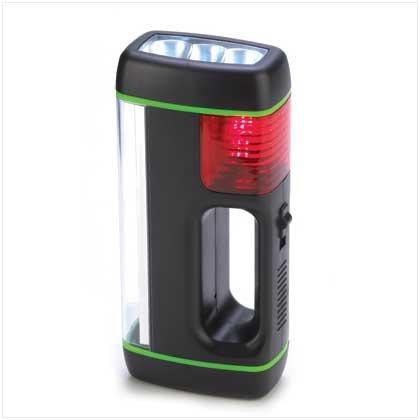 3-In-1 Emergency Flashlight - #13196