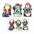 Christmas Music Box Figurines - #13303