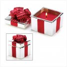 Red Gift Box Candle - #13393