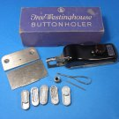 New Home & Free Westinghouse Sewing Buttonholer Set UP-1