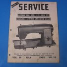 Kenmore Service Manual Models 120.490, 491, 492 Sears Kenmore Sewing Machine