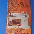 SINGER Zig-Zag Model 834 STYLIST Free-Arm Instructions Manual