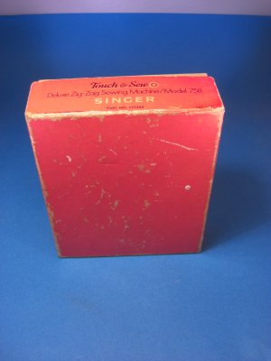 Vintage Singer Touch & Sew 758 Sewing Machine Attachments Box UP-1