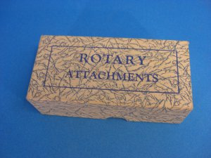 Vintage Antique Greist Rotary Sewing Attachment Box UP-1