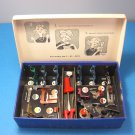 Vintage Sears Kenmore Sew By Color Sewing Machine Attachments In Box No. 608-37