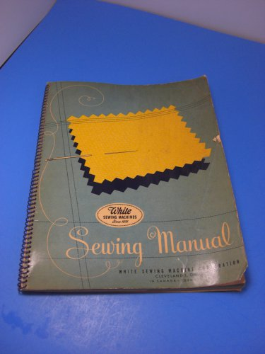 White Rotary Sewing Machine 1947 Instruction Manual