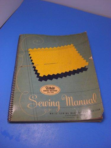 White Rotary Sewing Machine 1947 Instruction Manual
