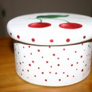 Hand Painted Cherry Cherries Gift Box