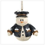 SNOWBERRY CUTIES POLICEMAN ORNAMENT