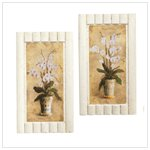 ORCHID BOUQUET WALL ART
