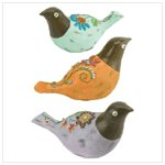 NEW!! FOLK ART BIRD FAMILY