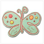 NEW!  MOSAIC BUTTERFLY STEPPING STONE/PLAQUE