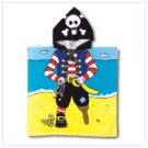 NEW!!  PIRATE HOODED BEACH TOWEL