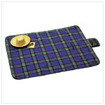NEW PLAID PICNIC BLANKET
