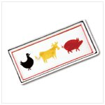 NEW!! ANIMAL SERVING TRAY