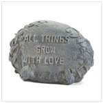 GROW WITH LOVE GARDEN STONE