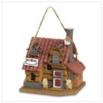 NEW SWISS WOODS BIRDHOUSE