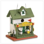 NEW PRO SHOP WOODEN BIRDHOUSE