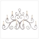GRACEFUL SWIRL WALL CANDELABRA