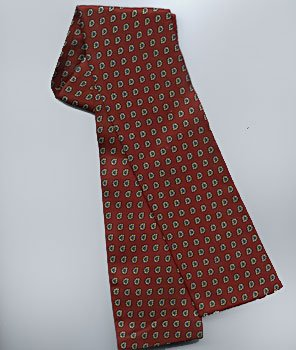 Women Silk TIE Burgundy