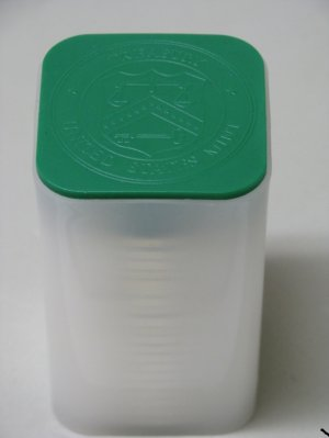 2009 AMERICAN SILVER EAGLE ROLL 20 COIN ROLL