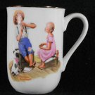Music Master 1982 Norman Rockwell Museum Collectible Coffee Tea Cup Mug