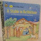 A Stable In Bethlehem A Christmas Counting Story First Little Golden Book VTG 89