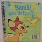 First Little Golden Book Disneys Bambi and the Butterfly childrens books 1982