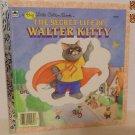 1986 The Secret Life of Walter Kitty A Big Little Golden Book LGB