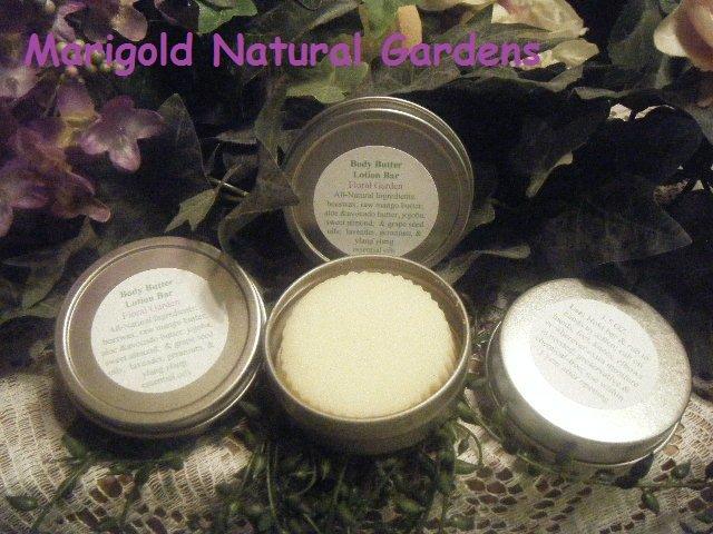 All Natural Mango Aloe Lotion Bar Lavender Ylang Ylang 1.5oz