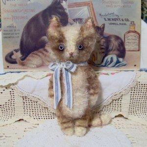 vintage style kitty cat Frisky E-pattern