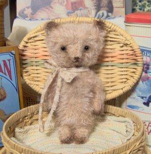 Primitive Bear E Pattern Vintage Style Mohair Teddy Dexter by SReetzBears