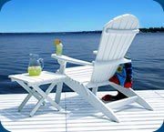 SHELL ADIRONDACK CHAIR
