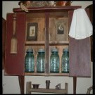 Item # 3033 Two Door Wall Cupboard