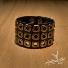 Free Shipping Holes Gothic Cool Bracelet Wristband Cuff (B619R)