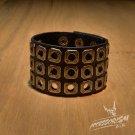 Free Shipping Holes Gothic Cool Bracelet Wristband Cuff (B619R)