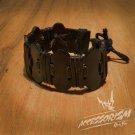 Free Shipping Black Leather Bracelet (B652S)