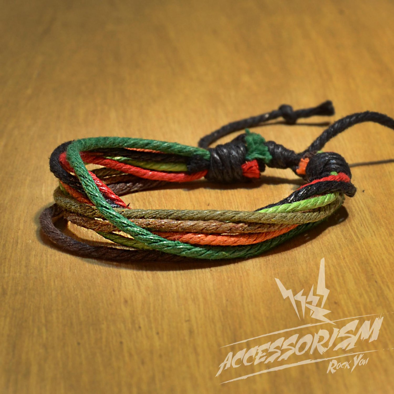 Free Shipping Mutli Color String Bracelet (B669S)