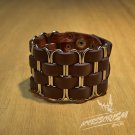 Free Shipping Clips Gothic Wide Bracelet Wristband Cuff (B643RN)