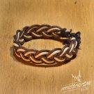 Free Shipping Brown & White String Bracelet (B693S)