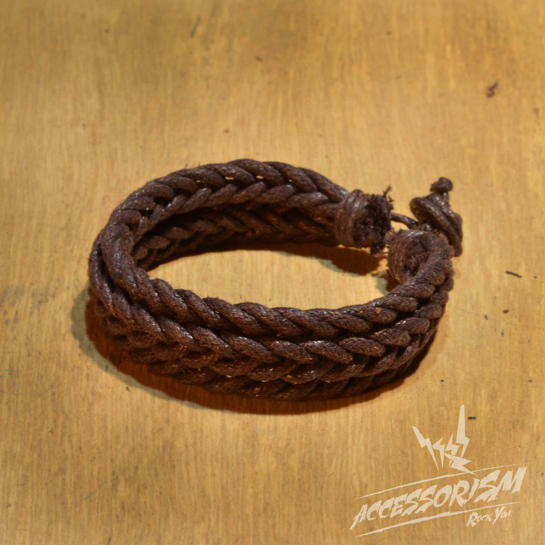 Free Shipping Brown String Bracelet (B704S)