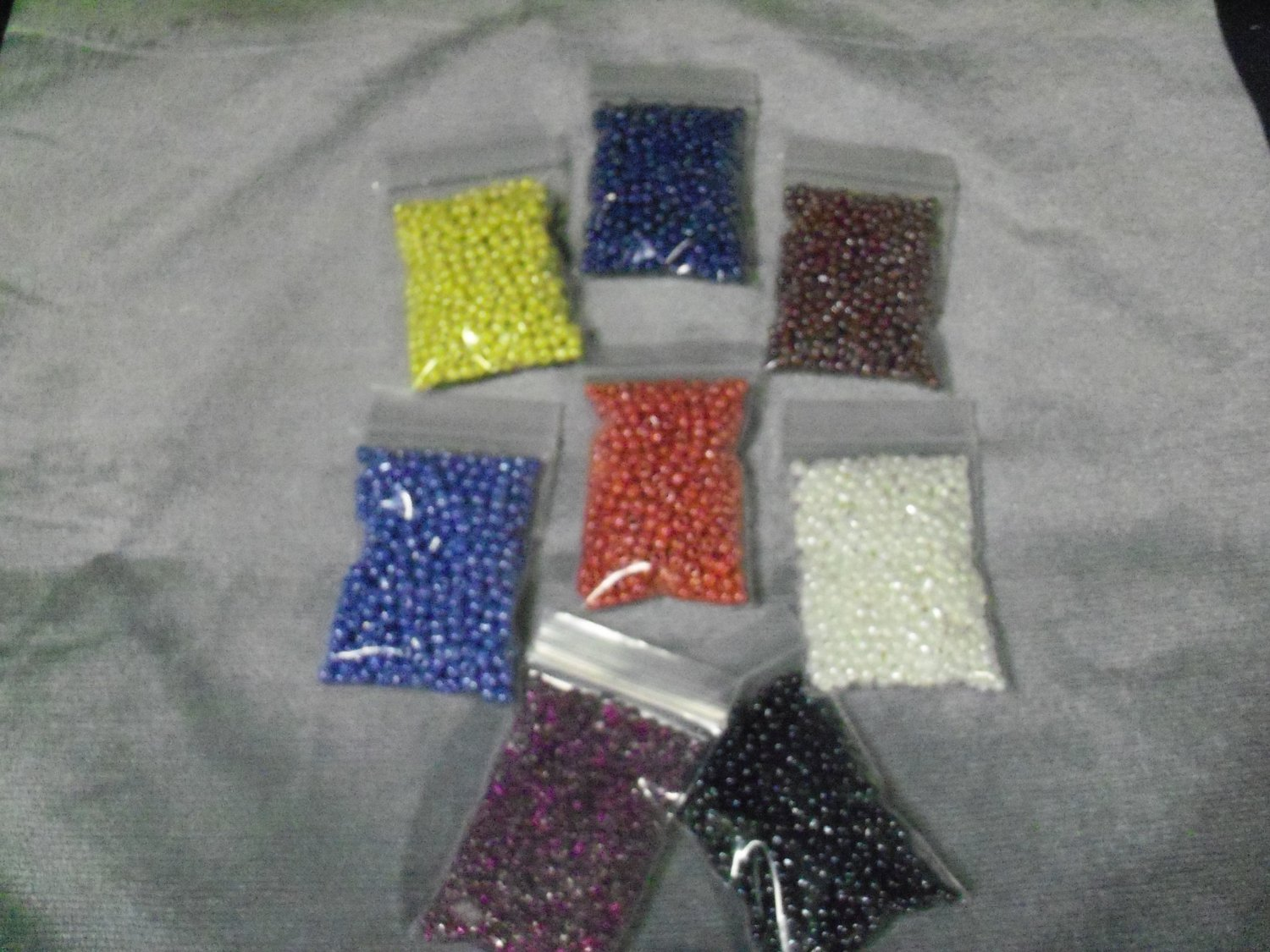 6/0 Opaque and Transparent Seed Beads
