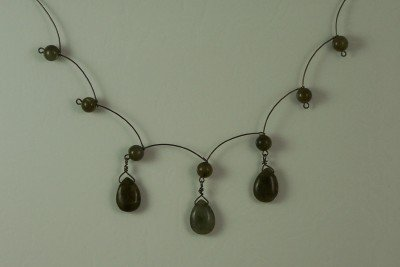Scallop Labradorite Necklace