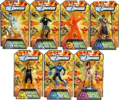 DC Universe Wave 17 Anti-Monitor Set of 7 Instock Now Ready to Ship